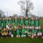 U10 mixed football who played Kilsheelan at home recently